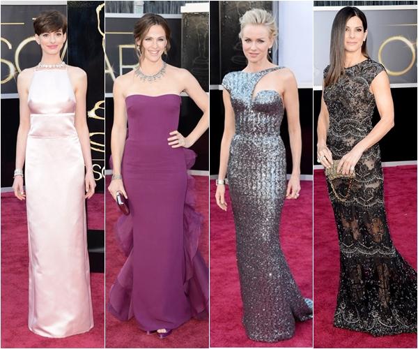 Лучшие платья Оскара 2013