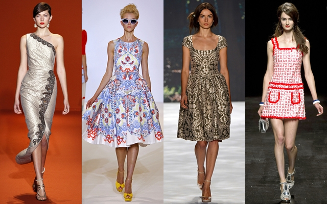 стильные платья 2013 женственные классические