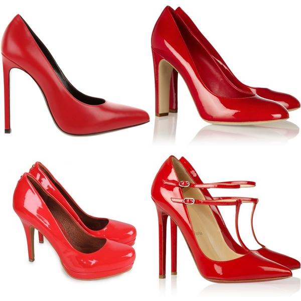 красные туфли 2013 классические