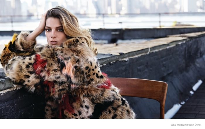 Дарья Вербови в фотосессии WSJ Magazine