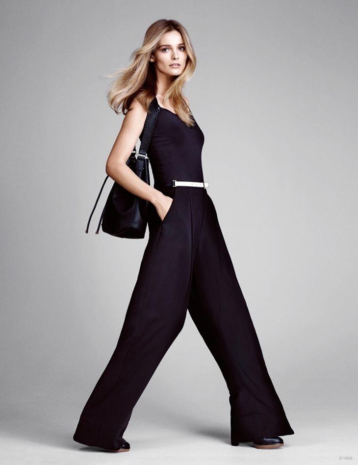 широкие брюки hm весна 2015