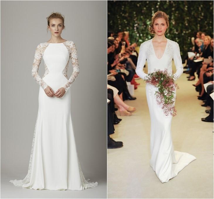Свадебные платья 2016 фото (23)
