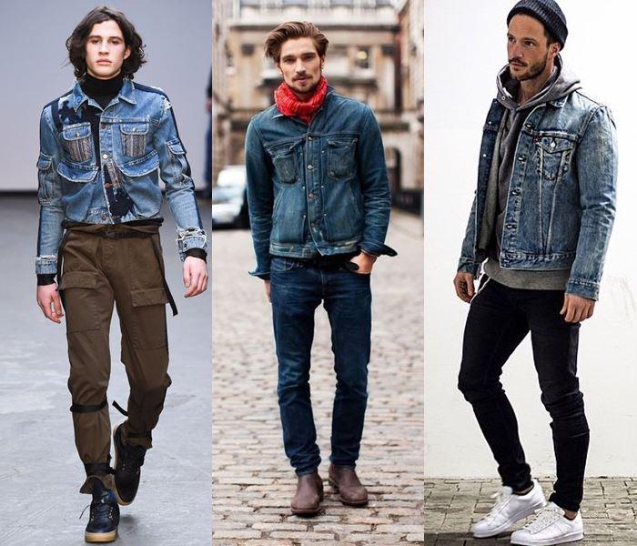 автовладельцы с чем носить мужскую джинсовую куртку фото последнего
