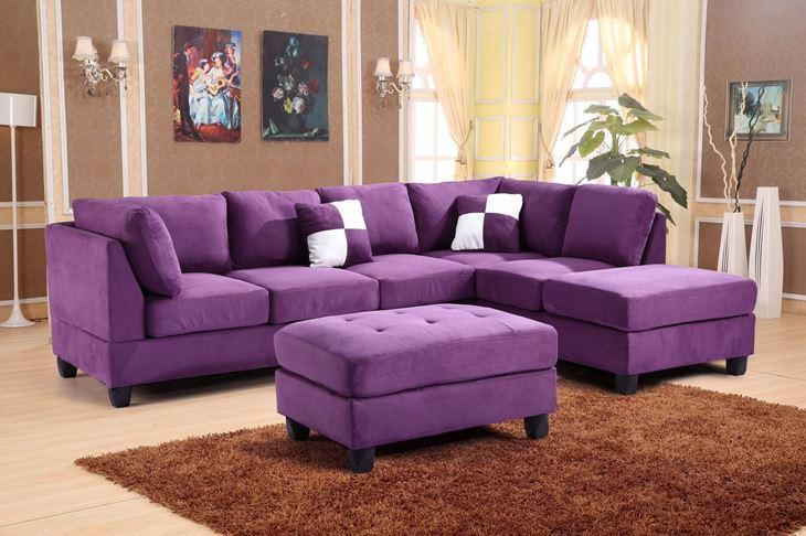 фиолетовые диваны с подушками фото запечатлевшие интерес горожан