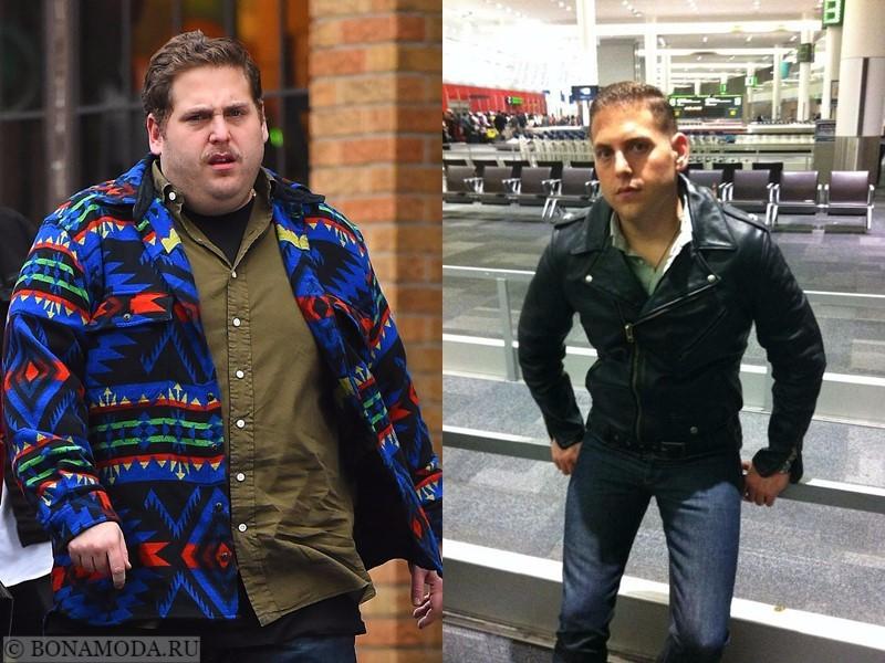 Российские звезды мужчины которые похудели