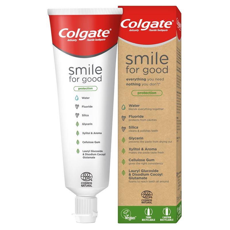 Экологичная зубная паста Colgate Smile for Good