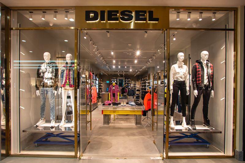 DIESEL открыл флагманский магазин в ТЦ «Атриум» (Москва)