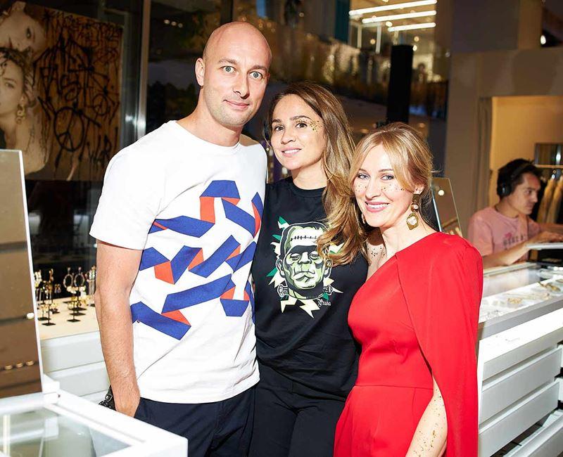 Российский магазин ювелирных украшений Poison Drop - Андрей Мигунов с женой
