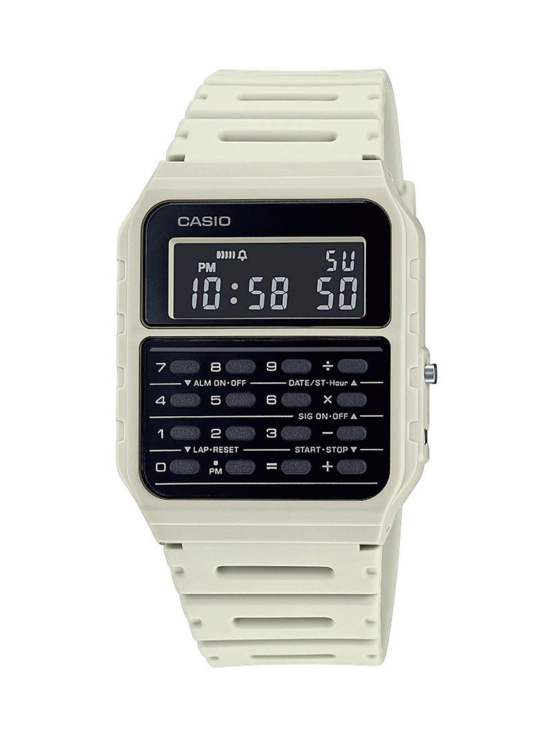 Наручные часы с калькулятором Casio Vintage - белые