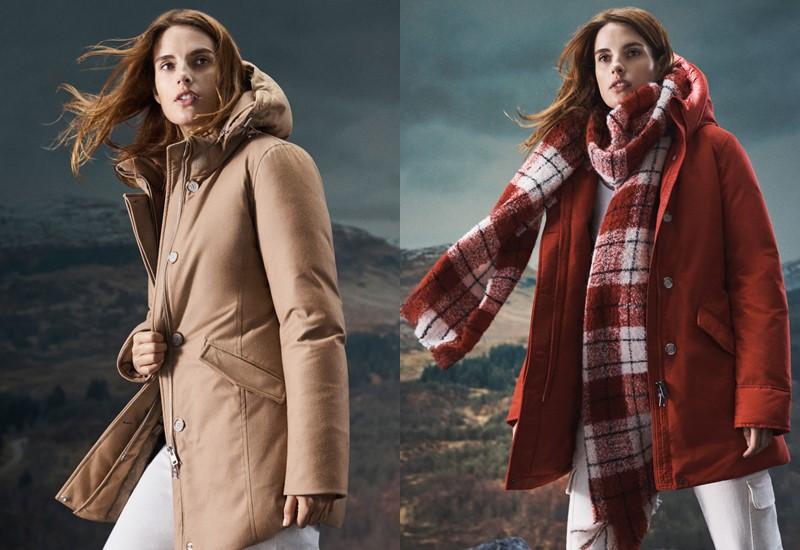 Куртки и пуховики Woolrich в рекламной кампании осень-зима 2020-2021 - фото 1