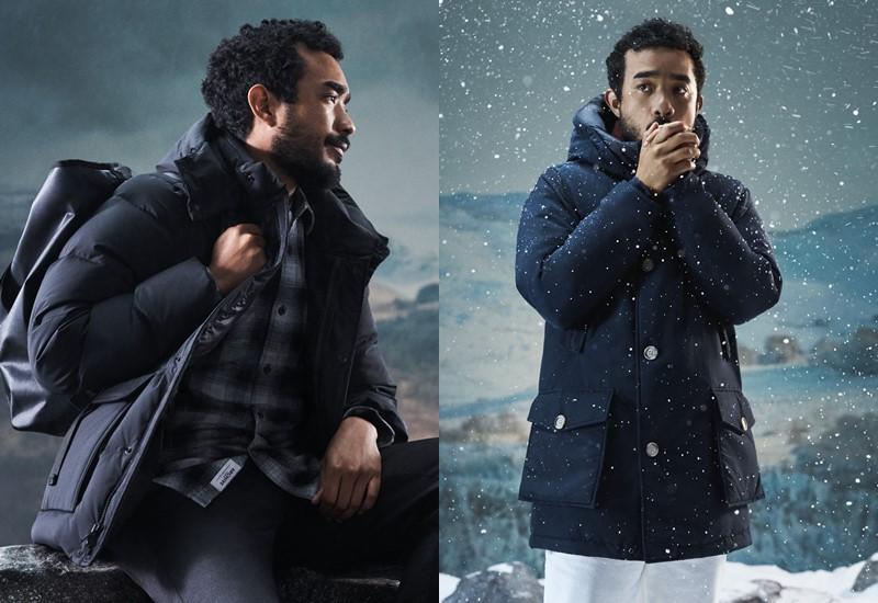Куртки и пуховики Woolrich в рекламной кампании осень-зима 2020-2021 - фото 5