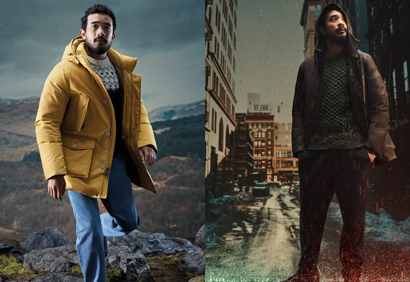 Куртки и пуховики Woolrich в рекламной кампании осень-зима 2020-2021 - фото 6