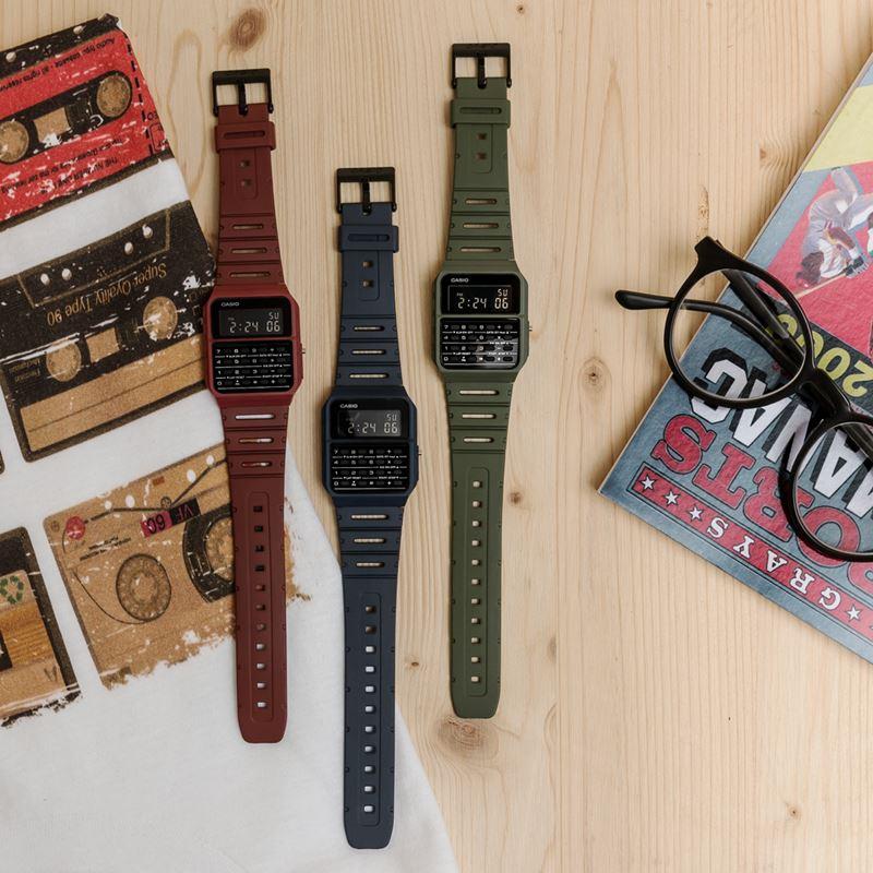 Наручные часы с калькулятором – незабытое старое от Casio Vintage