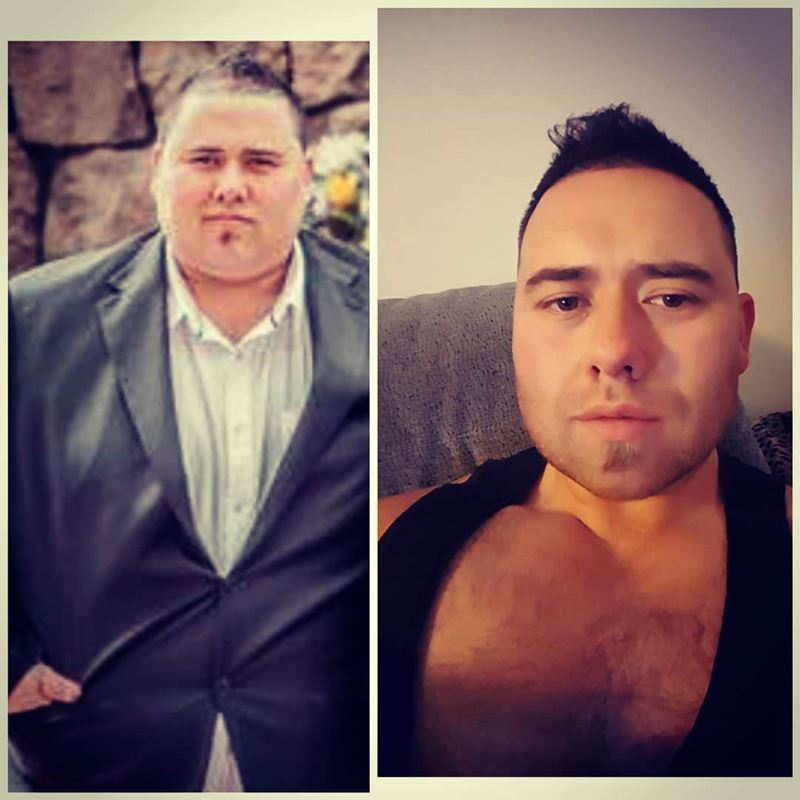 Мужчина похудел на 111 кг, чтобы  выиграть 10 000 долларов