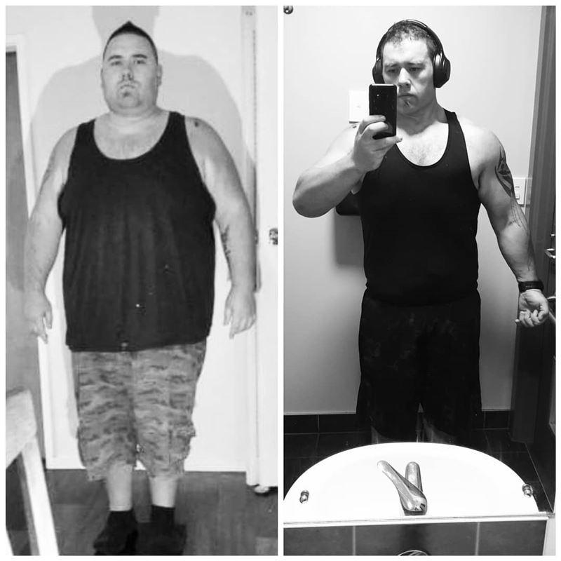 Киган похудел на 30 кг за 6 недель и стал победителем фитнес-марафона - до и после