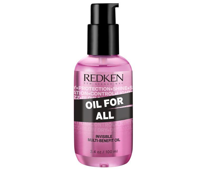 масло для волос Redken Oil For All - розовый флакон