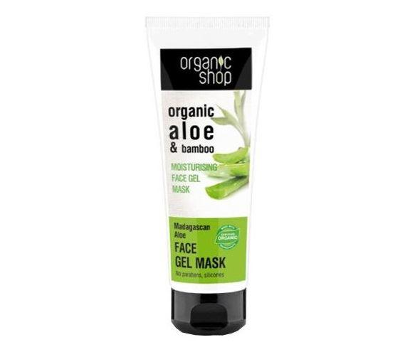 Маски для лица с алоэ вера - Organic Shop Aloe&Bamboo