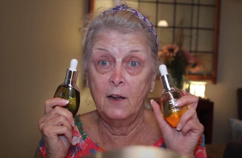 Бабушка на хайпе: 77-летняя блогерша показала свой макияж и набрала 1,5 миллиона просмотров