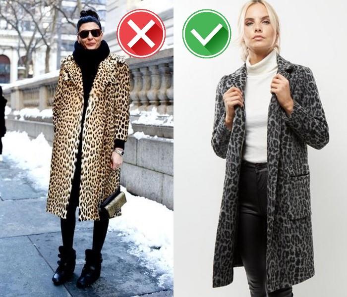 Как носить леопардовый принт - приглушённые оттенки и минимализм