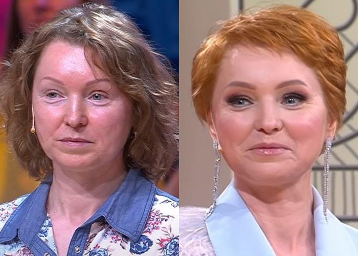 «Модный приговор», Елена (48 лет) - до и после