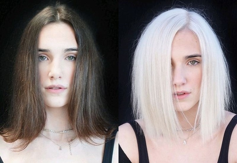 Спорные преображения в блондинку - От «натурпродукта» к ватному блонду