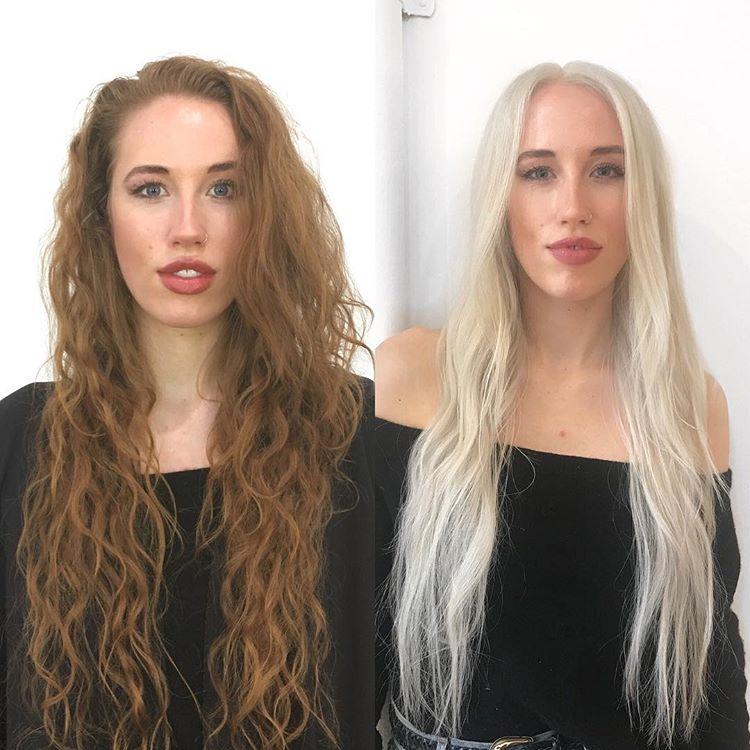 Спорные преображения в блондинку - От русалочки к Рапунцель