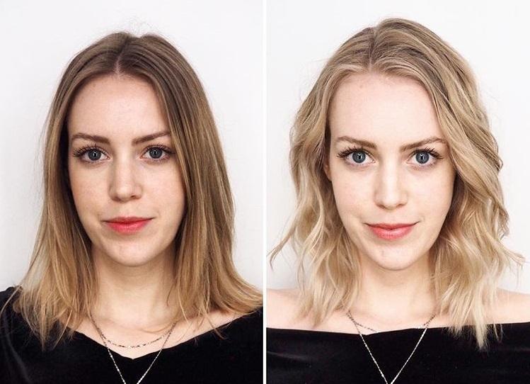 Спорные преображения в блондинку - Снижение контрастности
