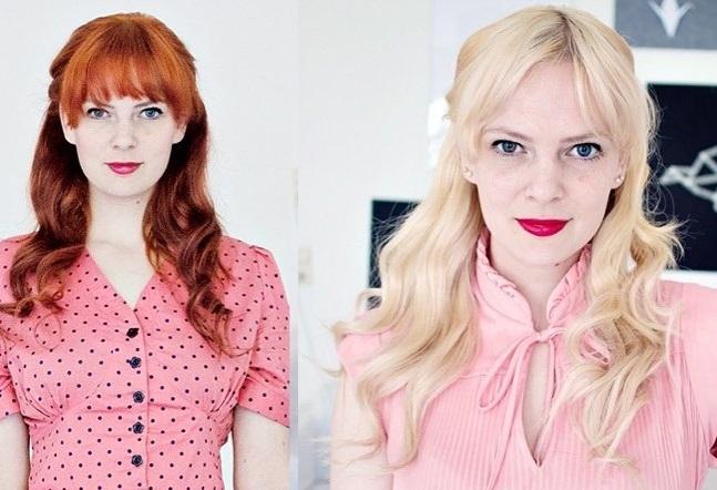 Спорные преображения в блондинку - От яркого ретро к современной безликости