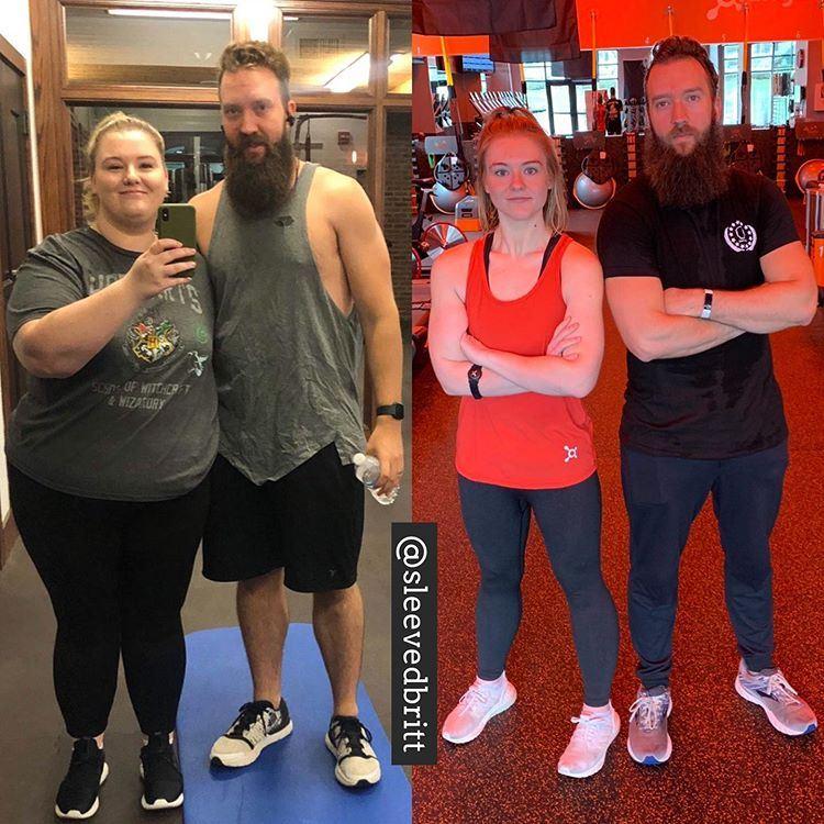 Поправилась на гормонах и похудела на 66 кг - фитнес