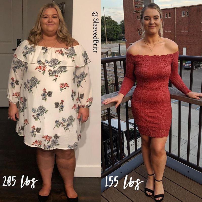 Поправилась на гормонах и похудела на 66 кг - 129 кг и 70 кг