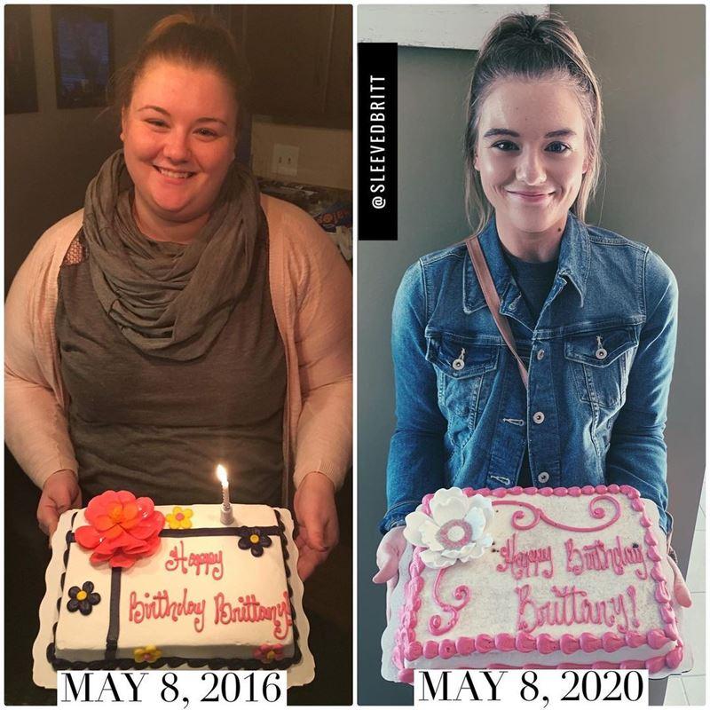 Поправилась на гормонах и похудела на 66 кг - день рождения