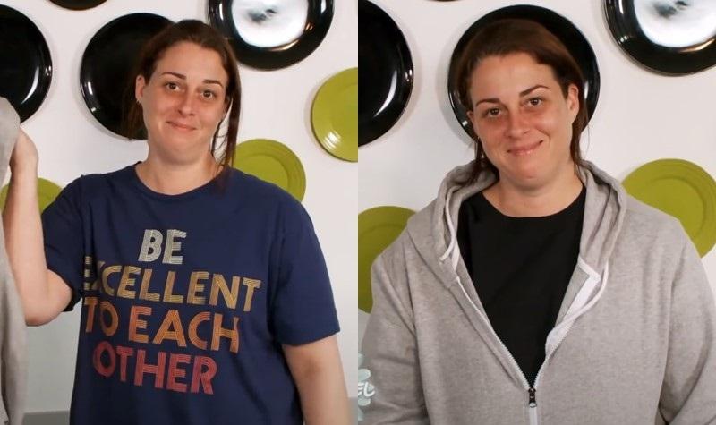 Преображение учительницы физкультуры - толстовки и футболки