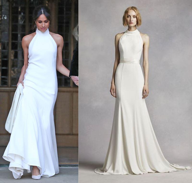 Самые дорогие наряды Меган Маркл - Платье второго дня свадьбы от Stella McCartney
