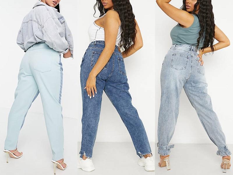 5 стильных моделей джинсов для полных из каталога ASOS