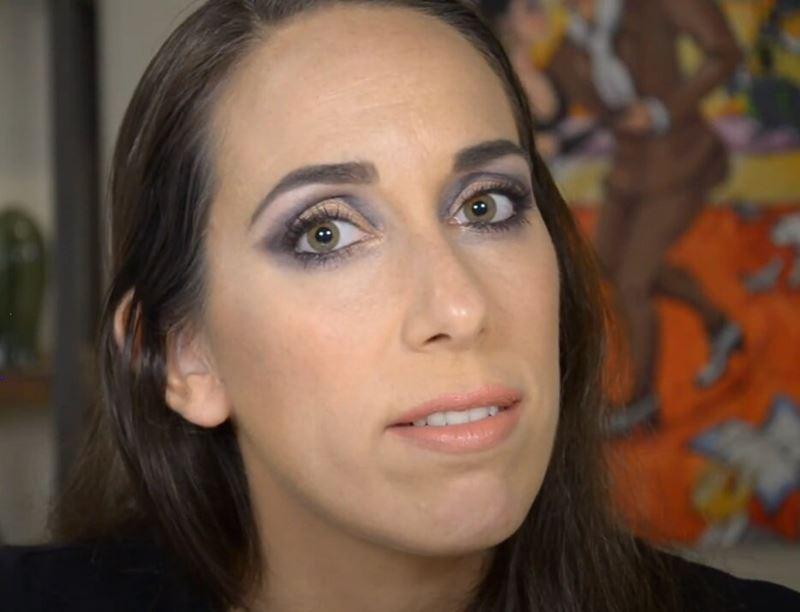 Израильский визажист - маскировка морщин макияжем