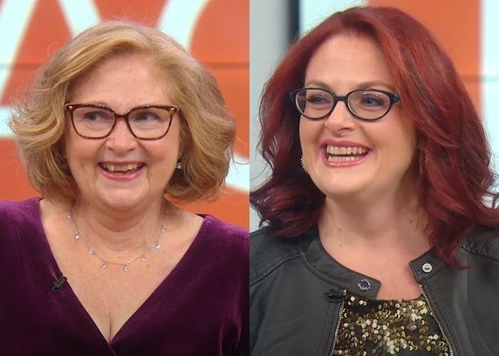 Двойное преображение матери и дочери - с новыми причёсками