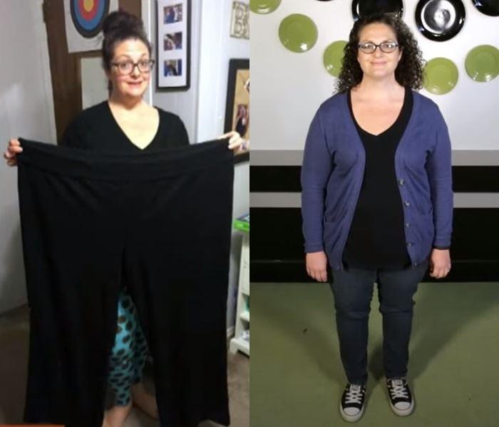 Двойное преображение матери и дочери - Мелисса после похудения