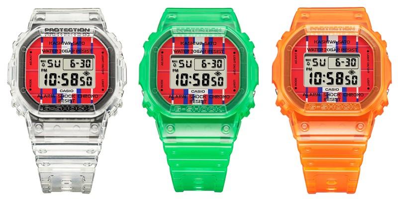 Ударопрочные часы G-SHOCK – DWE-5600KS - три модели