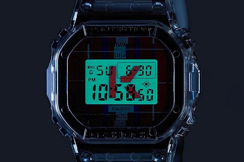 Ударопрочные часы G-SHOCK – DWE-5600KS - подсветка