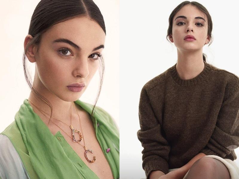 Дева Кассель - дочь Моники Беллуччи - Harper's Bazaar España