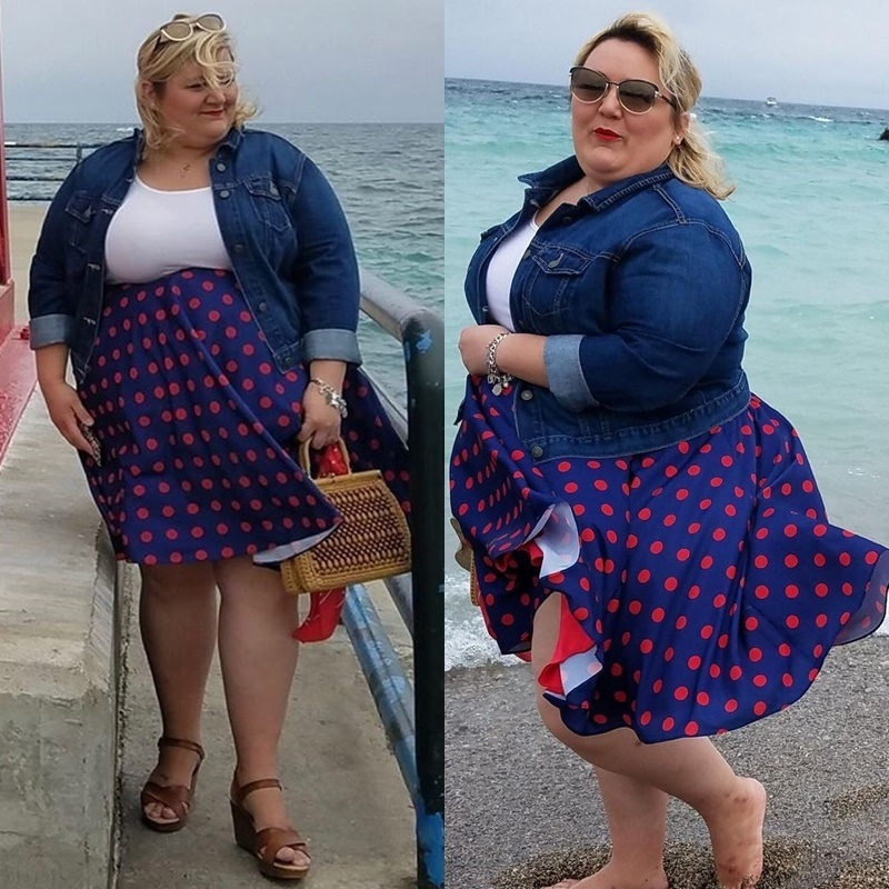 Как женщина 143 кг сбросила половину веса - До похудения