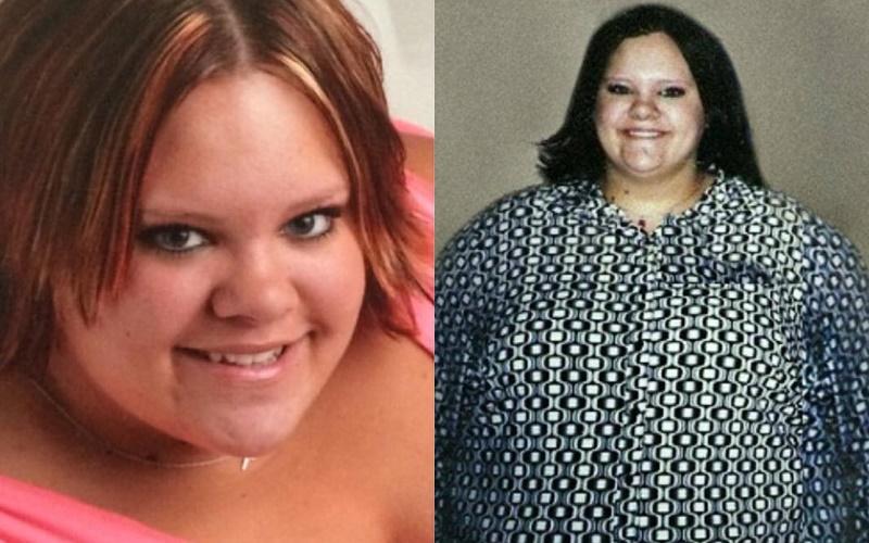 Девушка, весившая 130 кг, сбросила половину, пришла к стилистам, но осталась верна своему стилюображения)