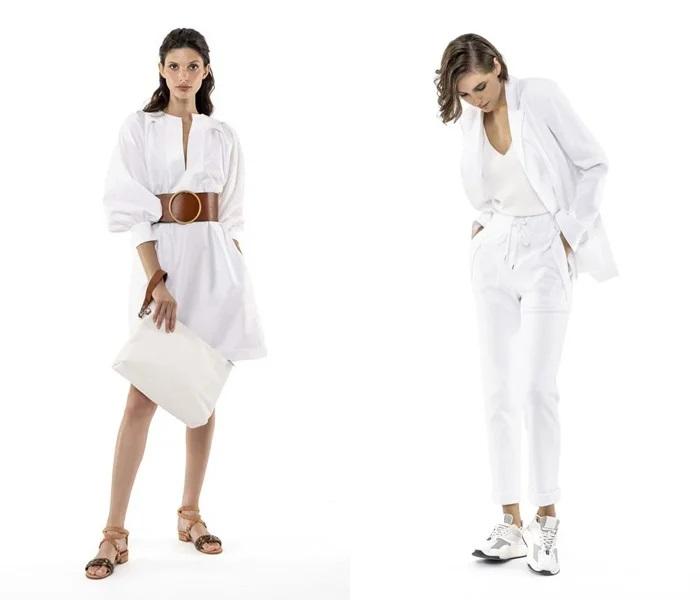 Коллекция Eleventy лето 2021 - белый цвет