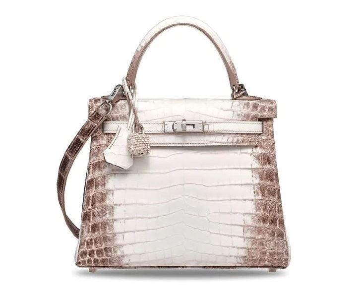 Самые дорогие в мире сумок на аукционе Christie's - Himalaya Niloticus Crocodile Retourne Kelly 25
