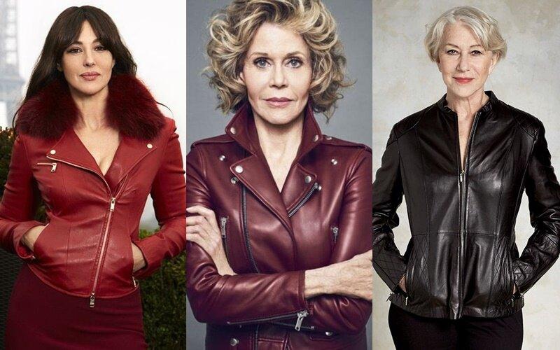 Можно и не молодёжно: как кожаные куртки носят знаменитости старше 50 лет