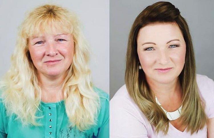 Блондинки, которые перекрасились - омбре