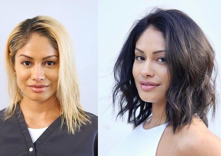 Блондинки, которые перекрасились - азиатка