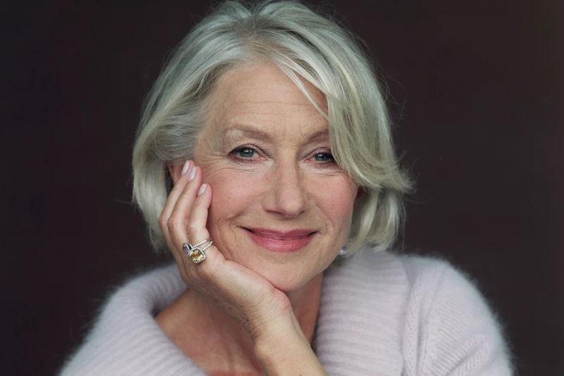 «Мне лень закрашивать седину»: Хелен Миррен – о жизни и красоте без фильтров после 70 лет