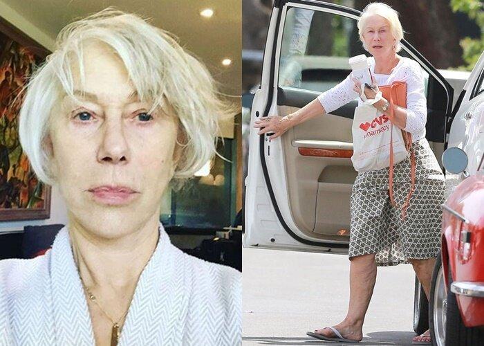 Хелен Миррен о жизни и красоте после 70 лет - без макияжа