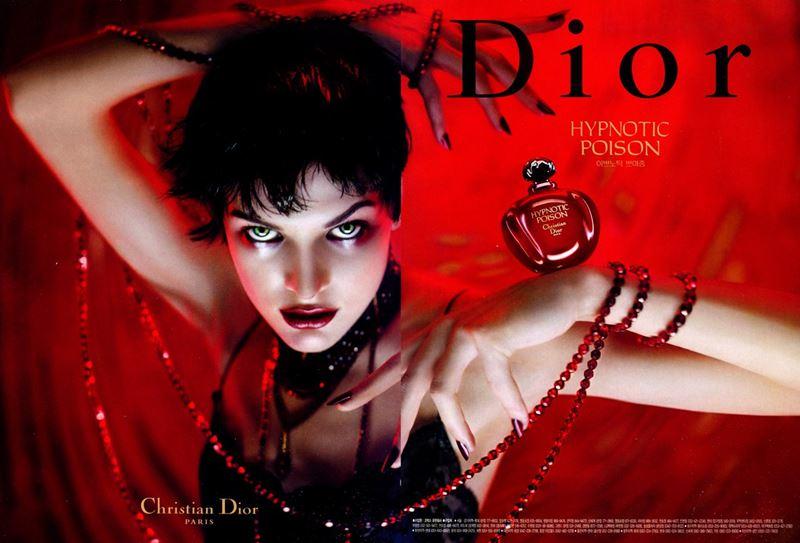 Туалетная вода Hypnotic Poison (Christian Dior) - Милла Йовович